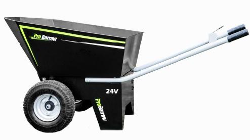 ProBarrow – The Professional Grade Electric Powered Wheelbarrow