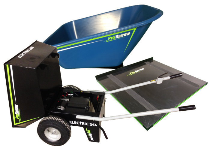 probarrow elite motorized wheelbarrow plus